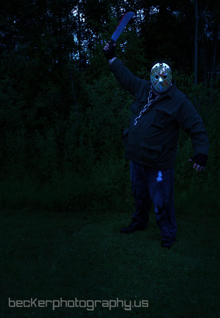 Jason in Forest at Night by MLBlue