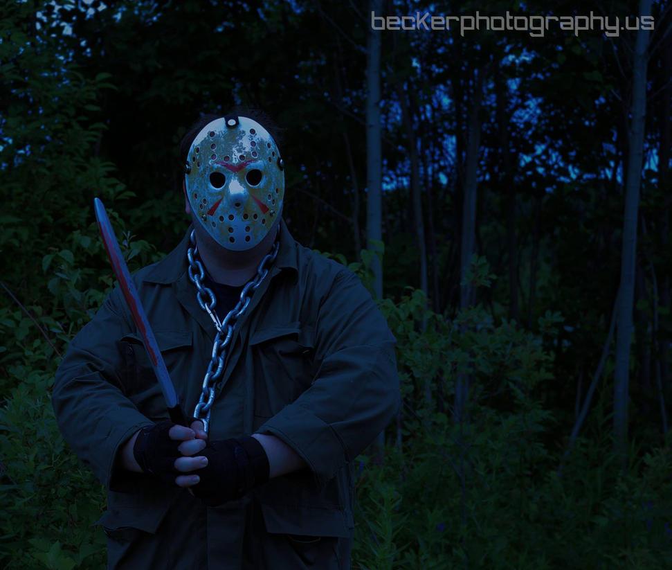 Scary Jason at Night by MLBlue