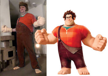 Wreck It Ralph Comparison 1 by MLBlue