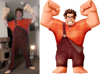 Wreck It Ralph Comparison 2 by MLBlue