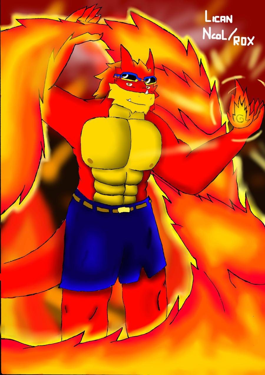 Raul the dragon by Lickan-Nicol
