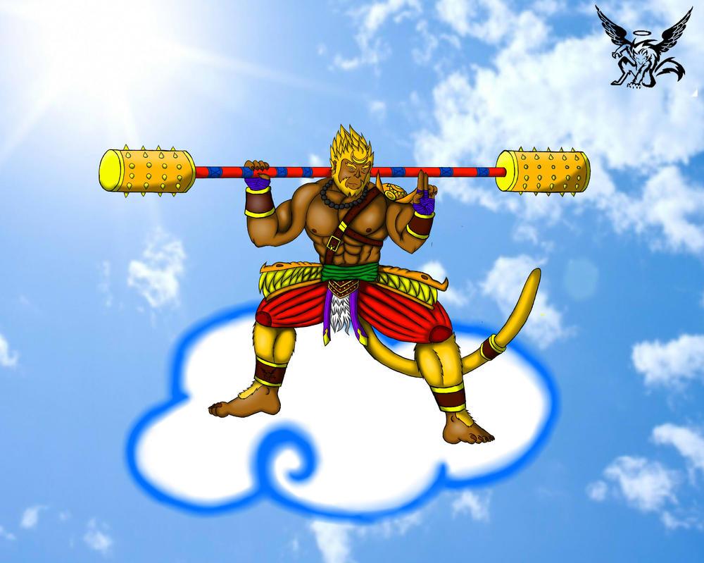 Sun Wukong by Lickan-Nicol