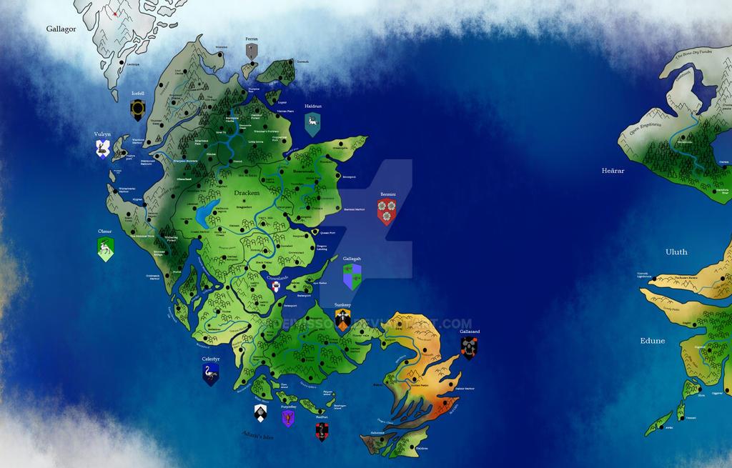 Mapa Drackem II by DeivisSoul