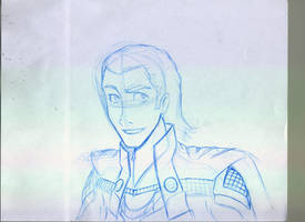 Loki Sketch by Erupto