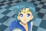 Sailor Mercury by MAURINDIOALESSANDRO