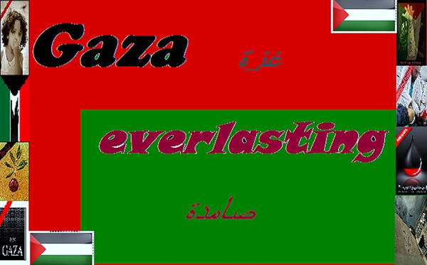 Gaza Everlasting by Animai-art
