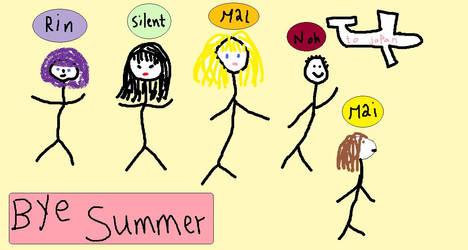 Bye SUMMER by Animai-art