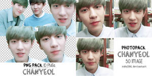 PACK PHOTO AND PNG EXO- CHANYEOL