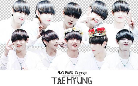 PNG PACK TAE HYUNG-BTS