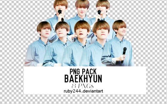 PNG PACK BAEKHYUN-EXO