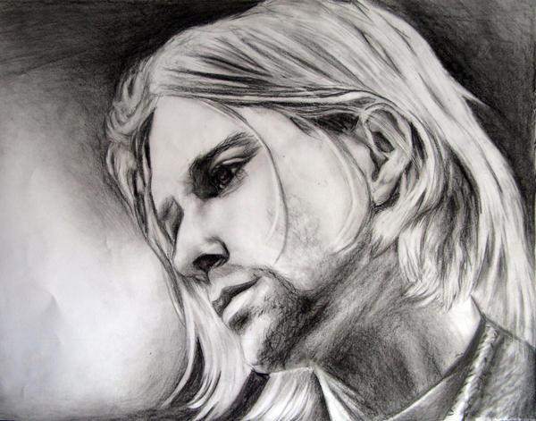 Kurt Cobain II by sunshine-07