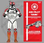 Clone trooper pilot - Dark