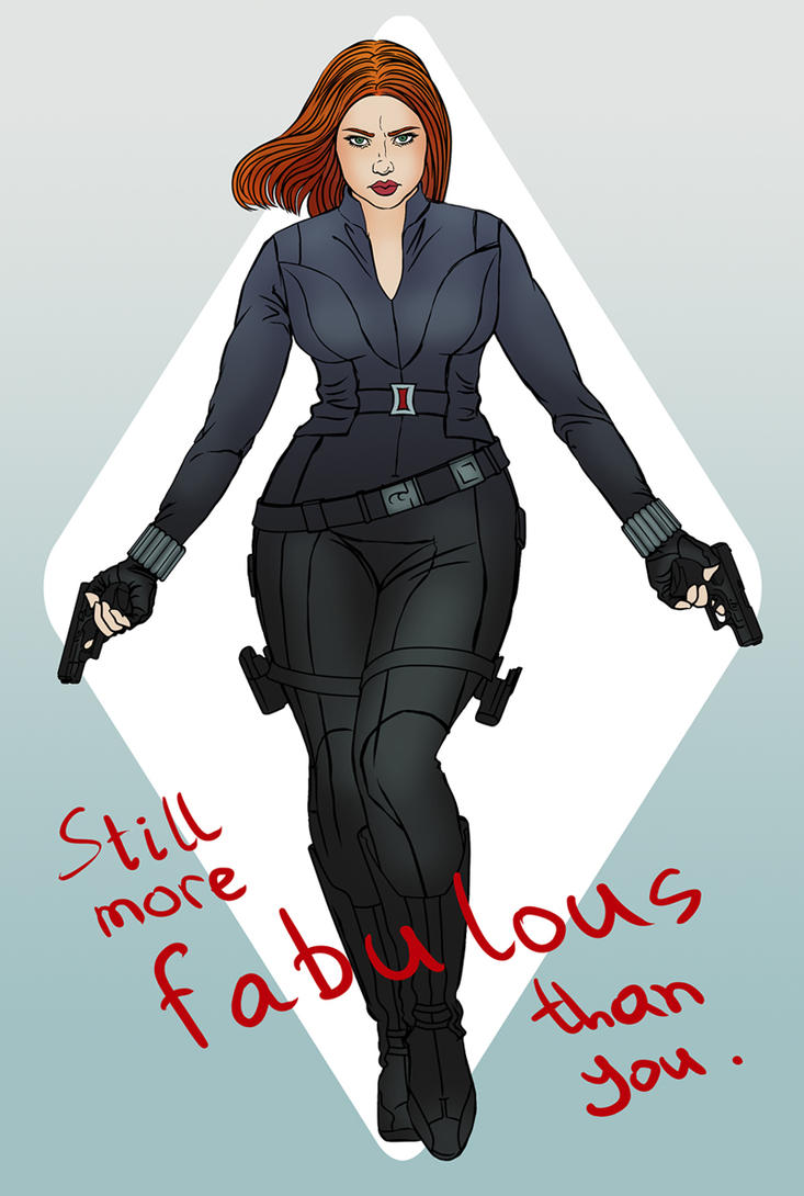 Black Widow by MigraineSky