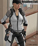 RE BSAA mercenaries 01 Sandy Jill