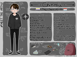 Meet The Artist 2018! by Chinmii