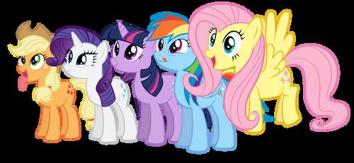 Delicious ponies by Proenix