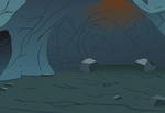 Cave Background Vector