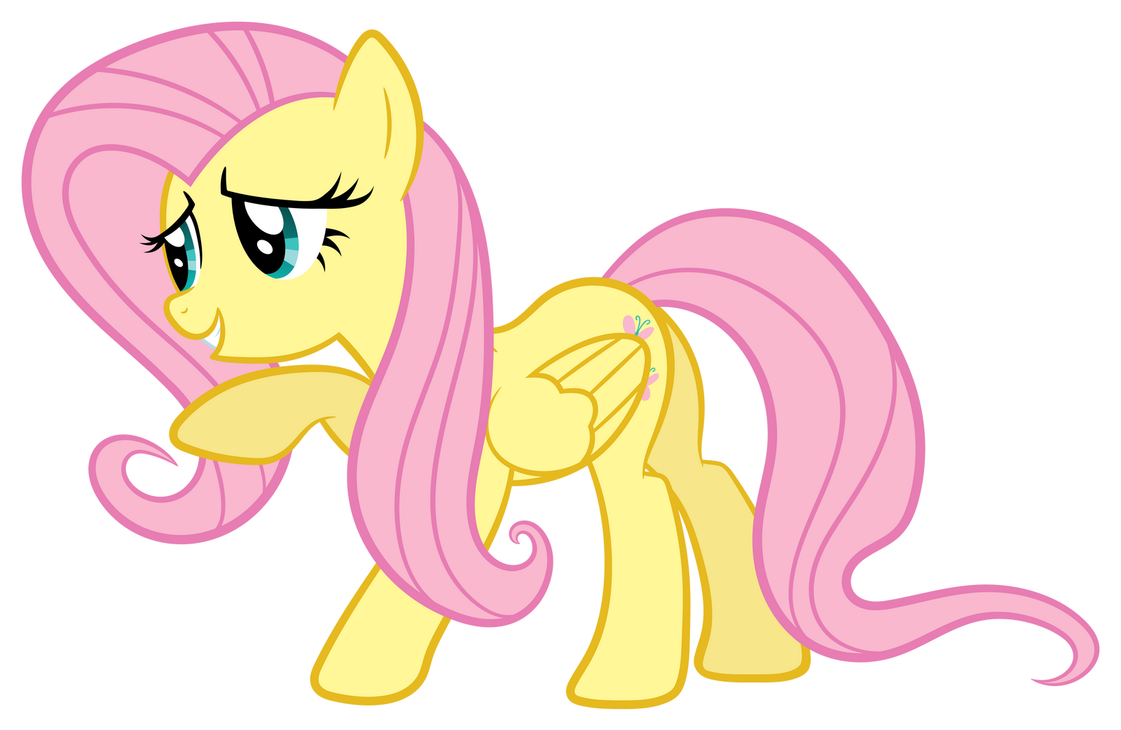 Fluttershy 'Pretty please' by Proenix