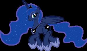Trotting Luna