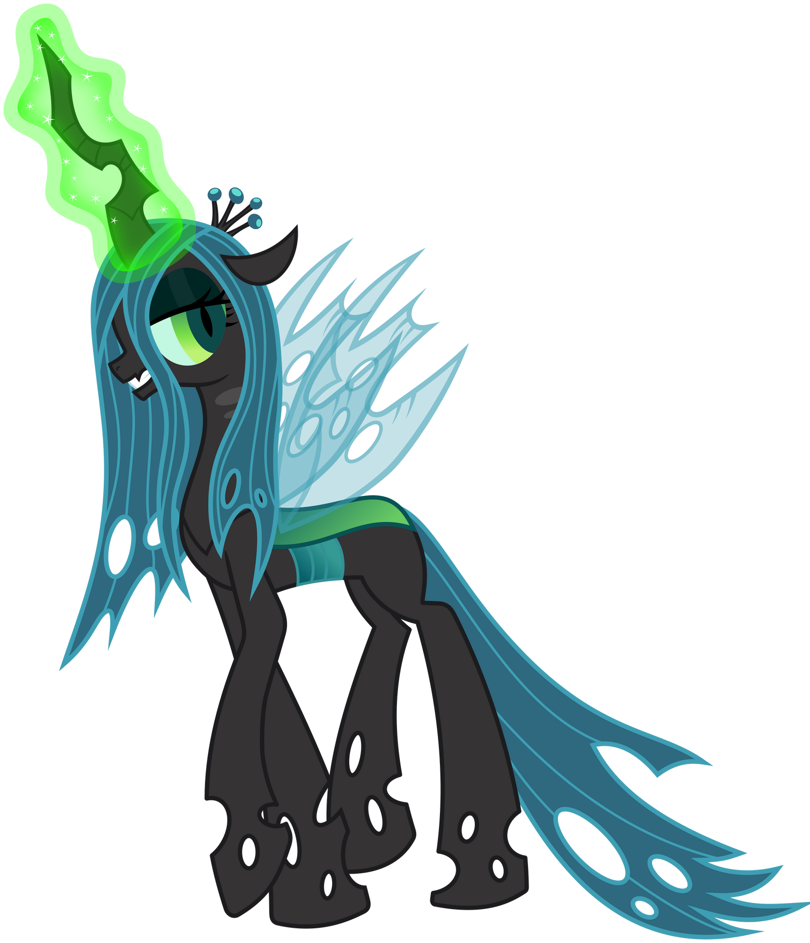 queen chrysalis hipster - photo #3