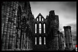 Whitby Abbey by PsychoPixel