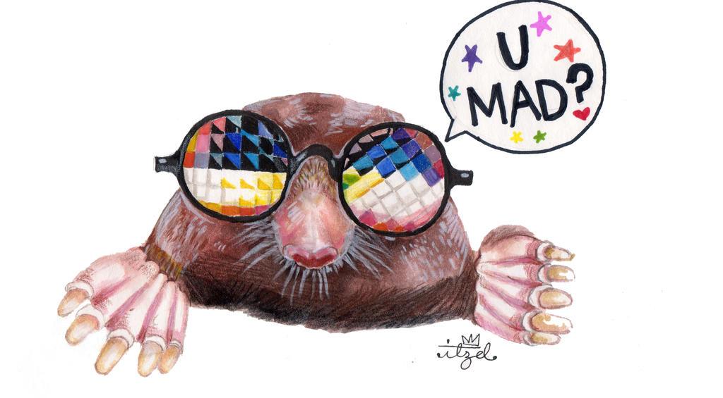 U MAD?! by LauADZ