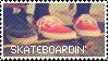 Skateboarding Stamp by MISSTAMPIES