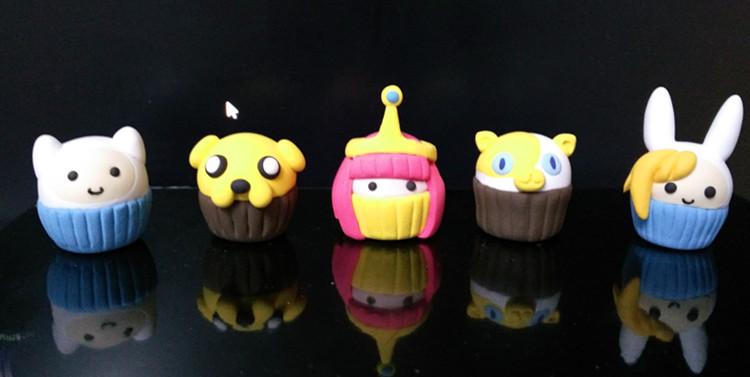 cupcakes of  adventure time by Diurenxianyan