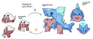 Fakemon Brainstorm #4 Saltiest Fakemon!