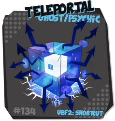 134 UBF2: Teleportal by EventHorizontal