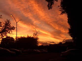 Sunset in Tercero by KeepSteddy