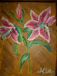 Stargazer Lilies by KeepSteddy