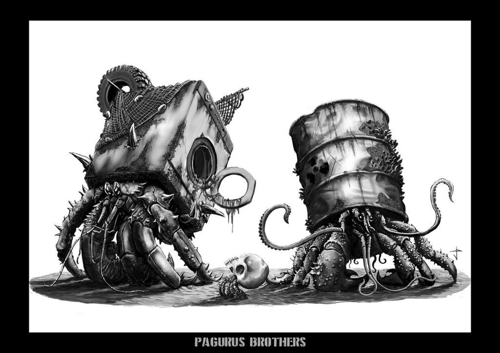 Pagurus Brothers by IlGoblin