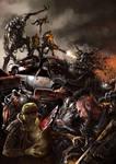 Fighting Biomachines - Nameless Land Apocalypse