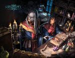 Library - Nightfell rpg