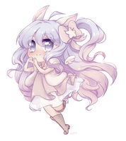 C|Bunny chan by catytiger