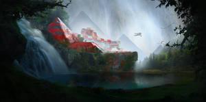 Lost city by HelenIlnytska