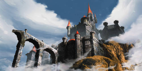 Castle In the Clouds by HelenIlnytska
