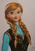 Anna - Coloured Pencil - Complete by AlexFentonDesigns