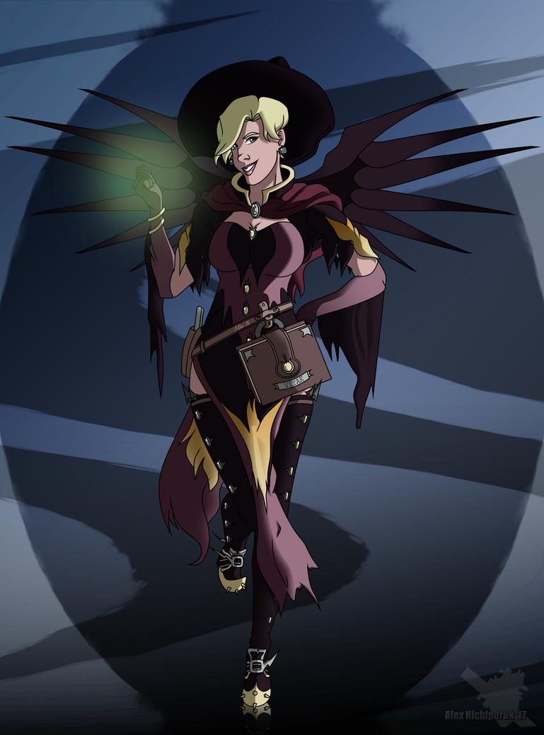 OverWatch (Witch Mercy) by EternASH