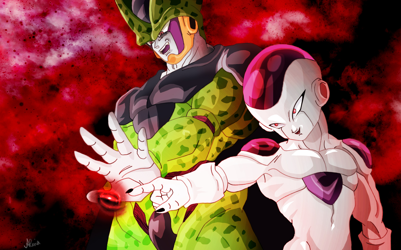 frieza cell wallpaper by dirulicious on deviantart