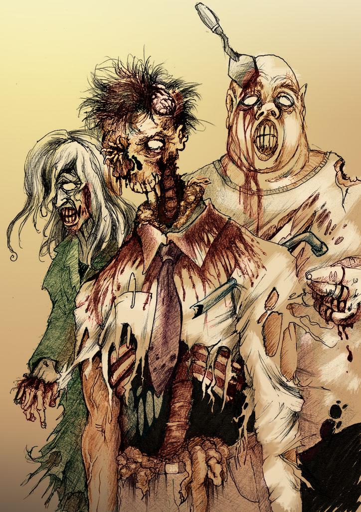 Zombie walk by zombieater