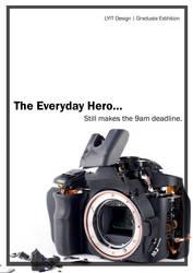 Everyday hero still makes the 9am deadline