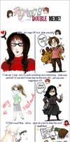 Double meme with BlackGeisha by Megan-Uosiu