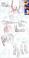 ..::Drawing muscles - panel::.. by Megan-Uosiu