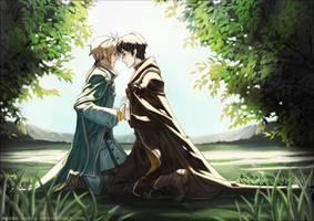 ..::Hikyo and Korn::.. by Megan-Uosiu