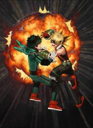 ..::Midoriya vs Bakugou::..