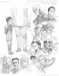 Artemis Fowl sketches by Megan-Uosiu