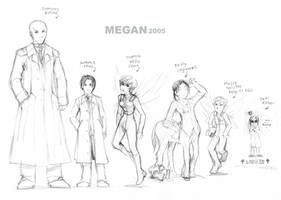 Artemis Fowl - chara design 1 by Megan-Uosiu