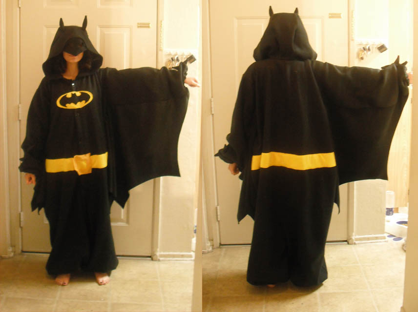 Batman Kigurumi by Anti-Ai-chan